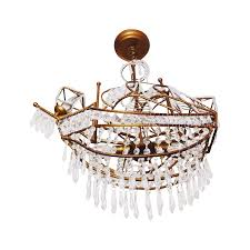 ship destin junk gypsy pirate chandelier diy vintage crystal wheel z