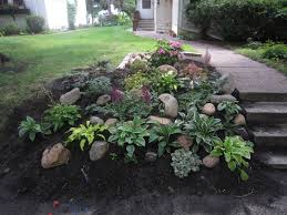Small Picture Backyard Slope Ideas See the plants I used here Landscaping