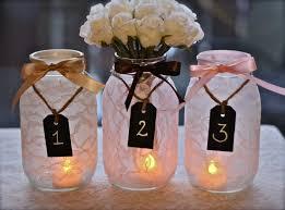 Table Decorations Using Mason Jars wedding table decorations with mason jars Picture Ideas References 40