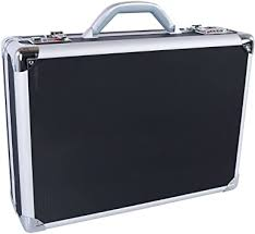 "NEXTECH 17.3"" Ultra-Light <b>ABS</b> Attache <b>Case</b>, <b>Black</b>, Under Seat ..."
