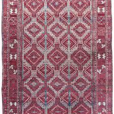 antique agra rug india