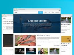 Photos Templates Free Download Free Html Css Template Dart Blog Free Html