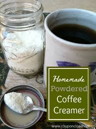 homemade powdered coffee creamer the picture to pin it for later