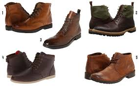 mens leather boots 2016