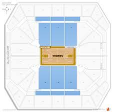 Mizzou Stadium Seating Chart Mizzou Arena Missouri Seating Guide Rateyourseats Com