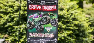 whole monster jam garden flags