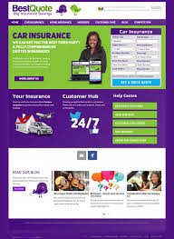 Best Quote Insurance Quotation Website Development - Web Design ...