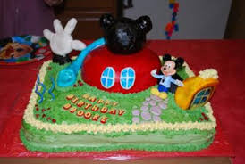 Mickey Mouse Cakes For Kids