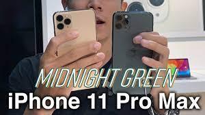 Midnight Green - màu sắc HOT nhất trên iPhone 11 Pro Max thực sự khác biệt  - YouTube