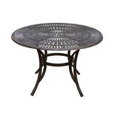 antique bronze patio dining tables