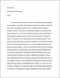 teen pregnancy short essay education student choice teen  this preview has intentionally blurred sections sign up to view the full version