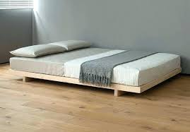 Low Bed Frames Low To Floor Bed Frame Low Bed Design For Lofted ...