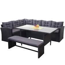 Poly Rattan Garnitur Hwc A29 Gartengarnitur Sitzgruppe Lounge