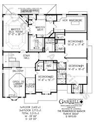 pemberleigh manor house plan 06047 2nd floor plan