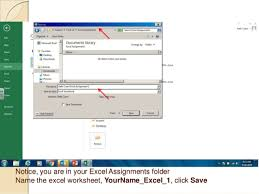Excel Assignments Productivity Programs Excel Assignment 1