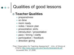educational issues children s issues ppt video online  10 qualities of good lessons