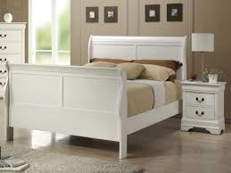 quality white bedroom furniture fine. Louis Phillipe White Sleigh Bed | Beds From FADS. Quality Bedroom Furniture Fine T