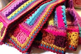 attic 24 blankets. another 2 attic24 cal blanket just finished crochet along attic 24 blankets g