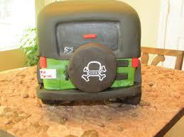 Jeep Wrangler Grooms Cake