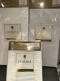 dorma dunelm double duvet set white