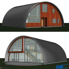 Curved Roof Homes & Cottages - DwellTech Construction ...