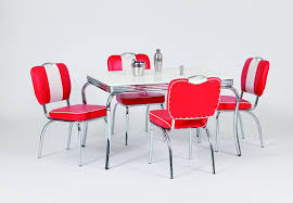 diner style table and chairs uk. american diner furniture 50s style retro rectangular table and 4 chairs: amazon.co.uk: kitchen \u0026 home chairs uk t