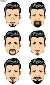 Barbershop Hairstyle Chart 6 Most Famous Goatee Styles And How To Achieve Them Goatee