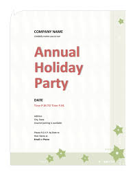 Company Christmas Party Invites Templates Company Holiday Party Invitation