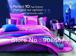 royal purple bedding set