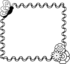Border Black And White Flowers Clipart Black And White Border Clipartsgram Com Clip Art