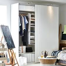 Ikea closet systems with doors Closet Ideas White Wardrobe Featuring Sliding Doors And Hanging Organizers Ikea Pax Closet System Planner Horiaco Closet System Excellent Best Ideas On Regarding Storage Ordinary