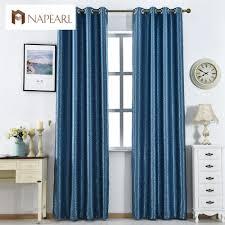 Teal Living Room Curtains Online Get Cheap Modern Drapes Curtains Aliexpresscom Alibaba
