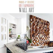 This elegant bless this home wood wall decor is made of mdf in a hollow rectangle shape. Unique And Creative Diy Farmhouse Wall Art The Cottage Market