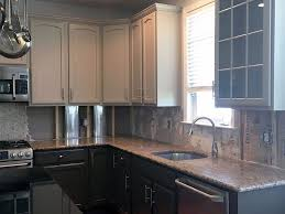 kitchen cabinet refinishing painting grande finale