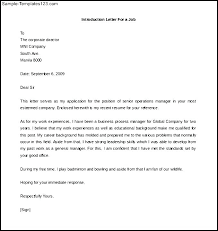 Great Introduction For Cover Letter Vancitysounds Com