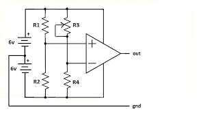 where is the ground in a simple electronic circuit electrical enter image description here