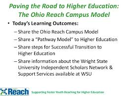 Wsu Math Placement Chart 2013 Ohio Reach Campus Model
