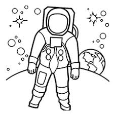 Small Picture Top 76 Astronaut Coloring Pages Free Coloring Page