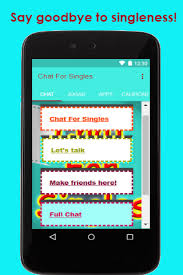 Chat rooms for singles