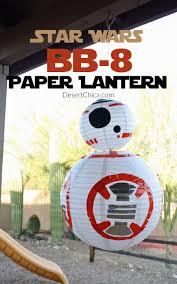 Paper Lantern Bedroom Star Wars Bb 8 Paper Lantern Desert Chica
