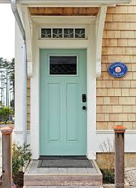 Turquoise front door Taupe Siding Surprising Turquoise Front Door Nifty Best Turquoise Paint Color For Front Door In Stunning Home Interior Frothme Surprising Turquoise Front Door Exterior Styles Home Decor