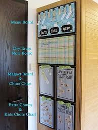 Kitchen Command Center Includes Menu Board Dry Erase