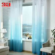 Sheer Bedroom Curtains Popular Blue Sheer Curtains Buy Cheap Blue Sheer Curtains Lots