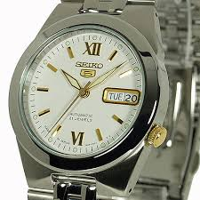 seiko 5 men s casual dress watch automatic day and date snke39j1 seiko 5 men s casual dress watch automatic day and date snke39j1 snke39j snke39 21 jewels seiko dress watch casual watch white face gold tone markers