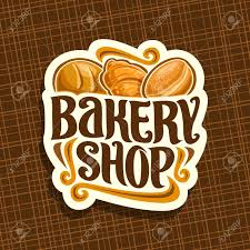 Vector Logo For Bakery Shop Whole Loaf Of Cereal Bread Fresh
