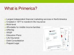 Primerica Financial Financial Services Primerica Financial Services