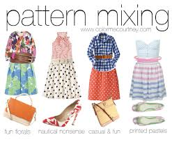 Pattern Mixing Awesome Color Me Courtney New York City Fashion Blog Style Spotlight