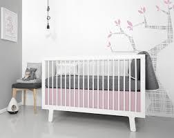 image of ultra modern nursery bedding