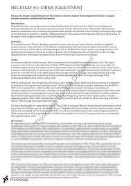 economics globalisation essay year hsc economics  economics globalisation essay
