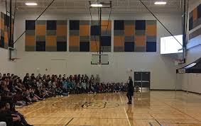 high school gym. Notre Dame High School\u0027s School Gym